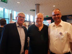 Landrat Sebastian Schuster, Markus Maria Profitlich, Wolfgang Pütz (Bonn-rhein-sieg-fairbindet)